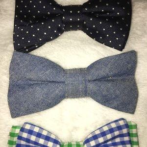 Mud Pie Accessories - Toddler boys bow ties
